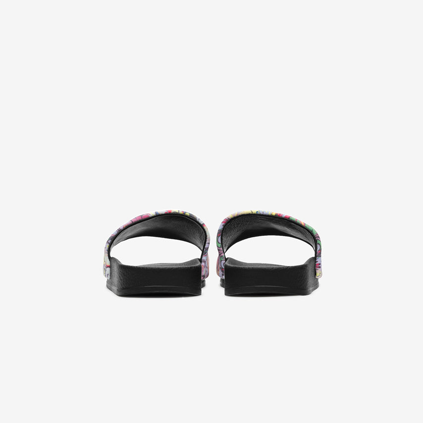 The Cynthia Rowley x GREATS Slide Women's - Multi Pink