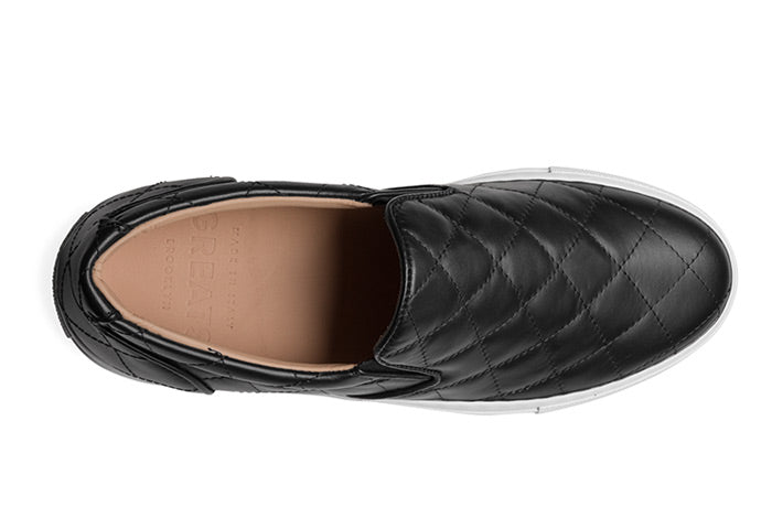 The Wooster Quilted Women's - Nero