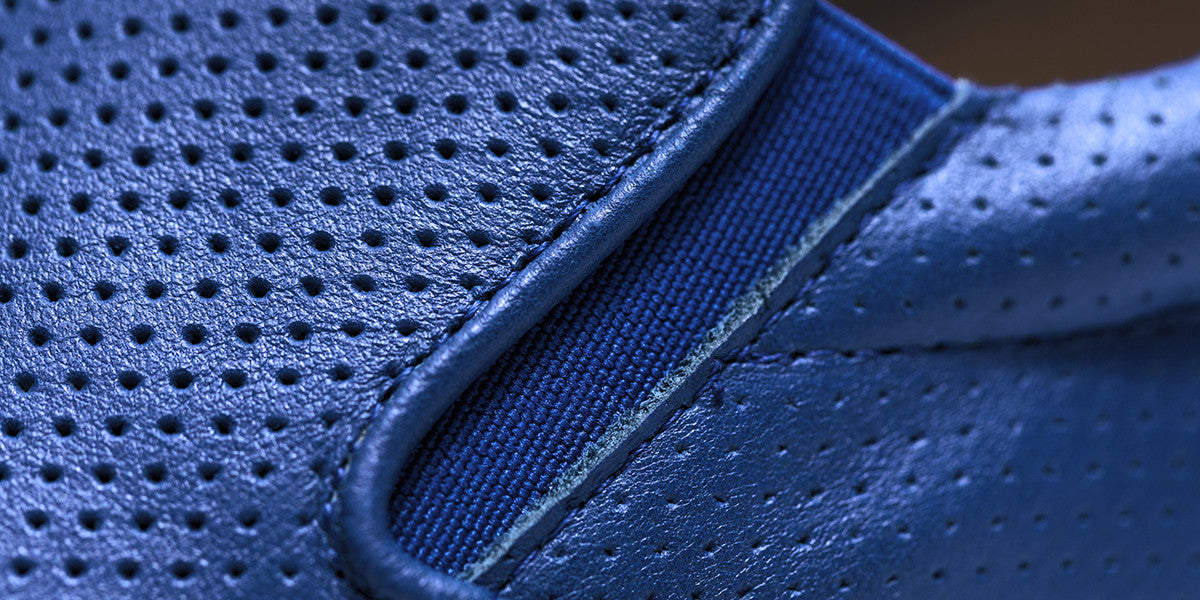 The Wooster Perforated - Cobalt