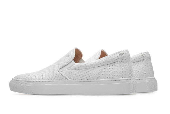 The Wooster Perforated Women's - Blanco