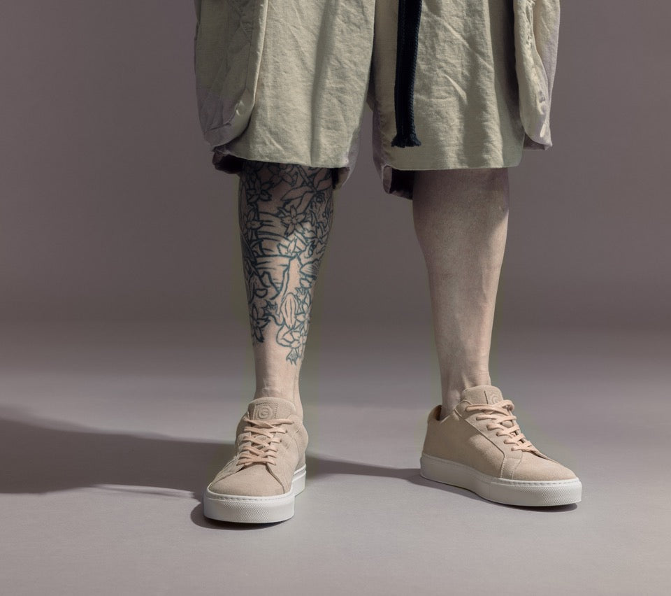 The Nick Wooster x GREATS Royale - Neutral Suede