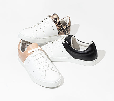 The Devoe Women's - Blanco / Nero