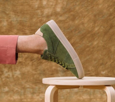 The Royale Suede - Moss/Gum