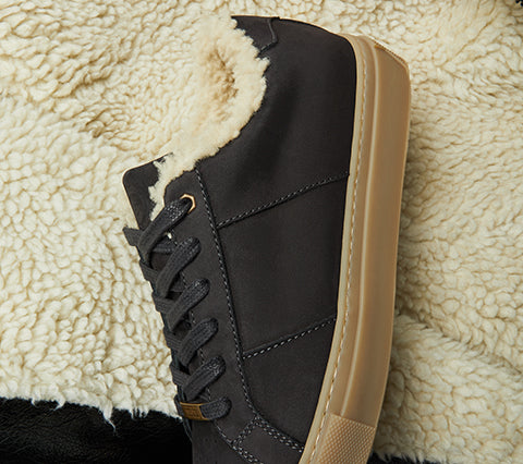 The Royale Shearling Women's - Black/Gum