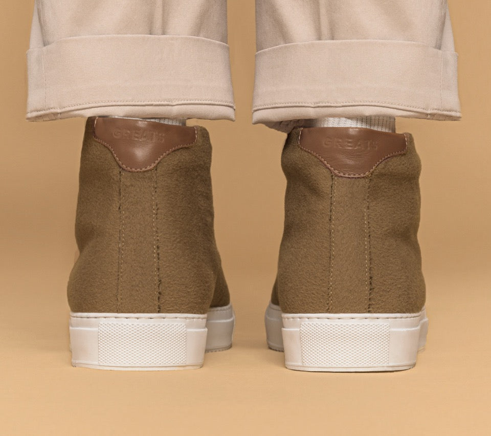 The All Weather Wool Royale High - Camel