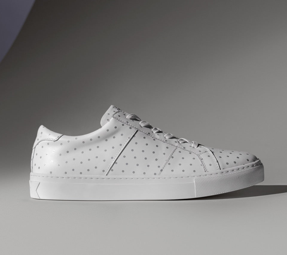The Nick Wooster x GREATS Royale - Blanco 3M Dots