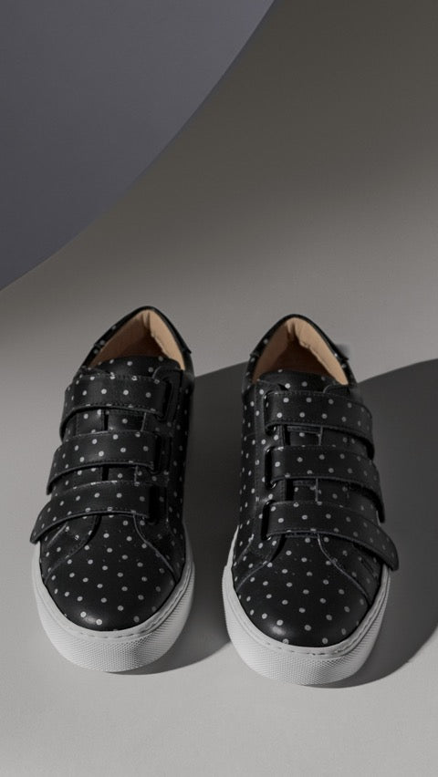The Nick Wooster x GREATS Royale Velcro Women's - Nero 3M Dots