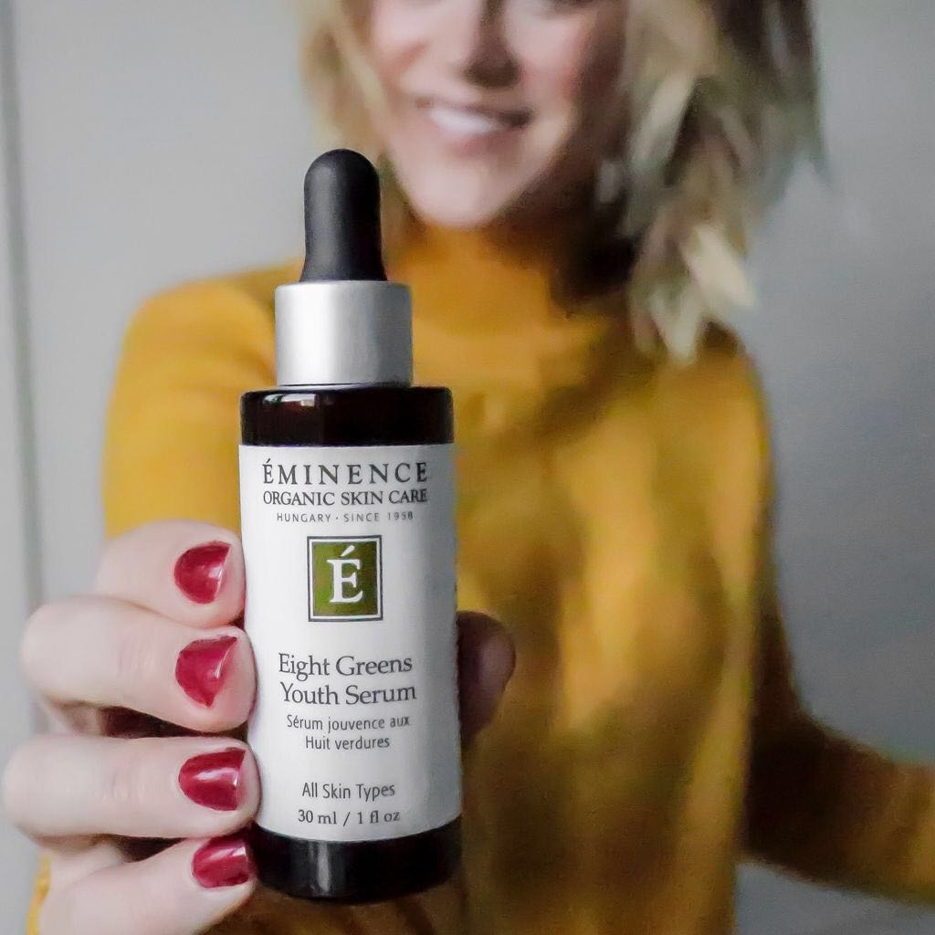 Treat Hormonal Breakouts with Eminence's Eight Greens Line
