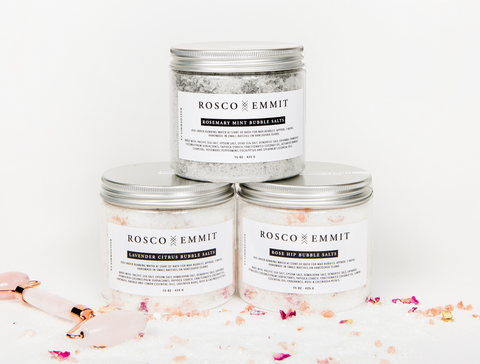 Rosco Emmit Bubble Salts - Skincare Gift Guide - The Facial Room