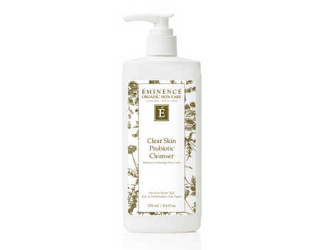 Eminence Organics Clear Skin Probiotic Cleanser - best seller - the facial room