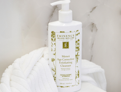 Eminence Organics Monoi Age Corrective Exfoliating Cleanser - mother's day - the facial room