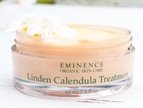 Fall skincare eminence organics Canada skincare for autumn Eminence Organics Linden Calendula Treatment