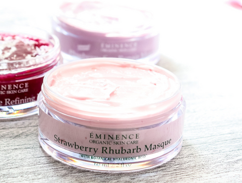 Eminence Organics Strawberry Rhubarb Masque - mother's day - the facial room