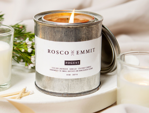 Rosco Emmit Fogust Soy Candle - mother's day - the facial room