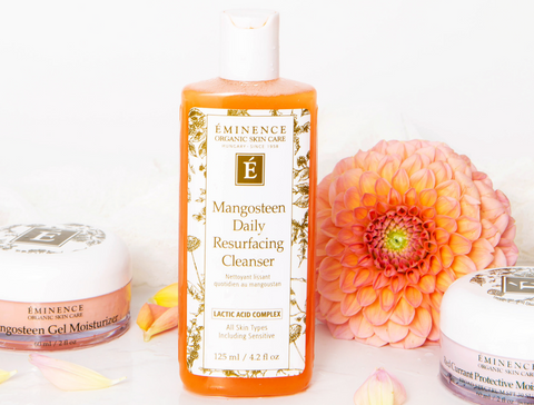 Eminence Organics mangosteen daily resurfacing cleanser - 2021 skincare routine