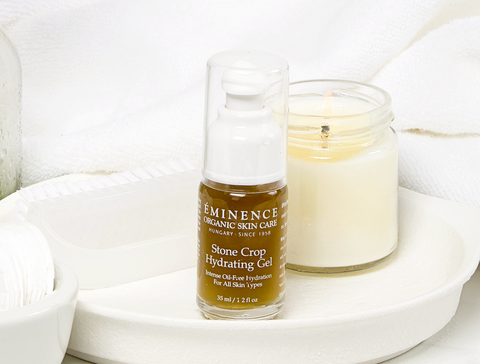 Eminence Organics Stone Crop Hydrating Gel - spring skincare routine - the facial room