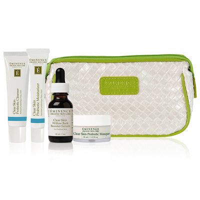 Eminence Organics Clear Skin Starter Set – to treat oily and problem skin