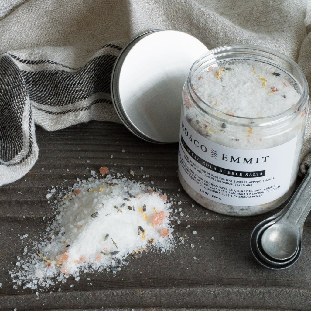 Rosco Emmit Cedar Lavender Bubble Salts