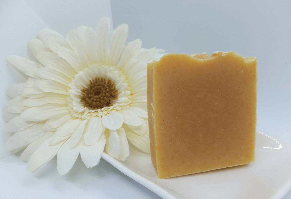 Palm Free Carrot Soap with Turmeric and Honey