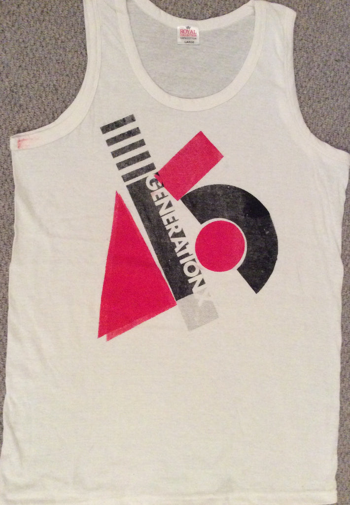 Generation X Punk VEST  - Medium 38""