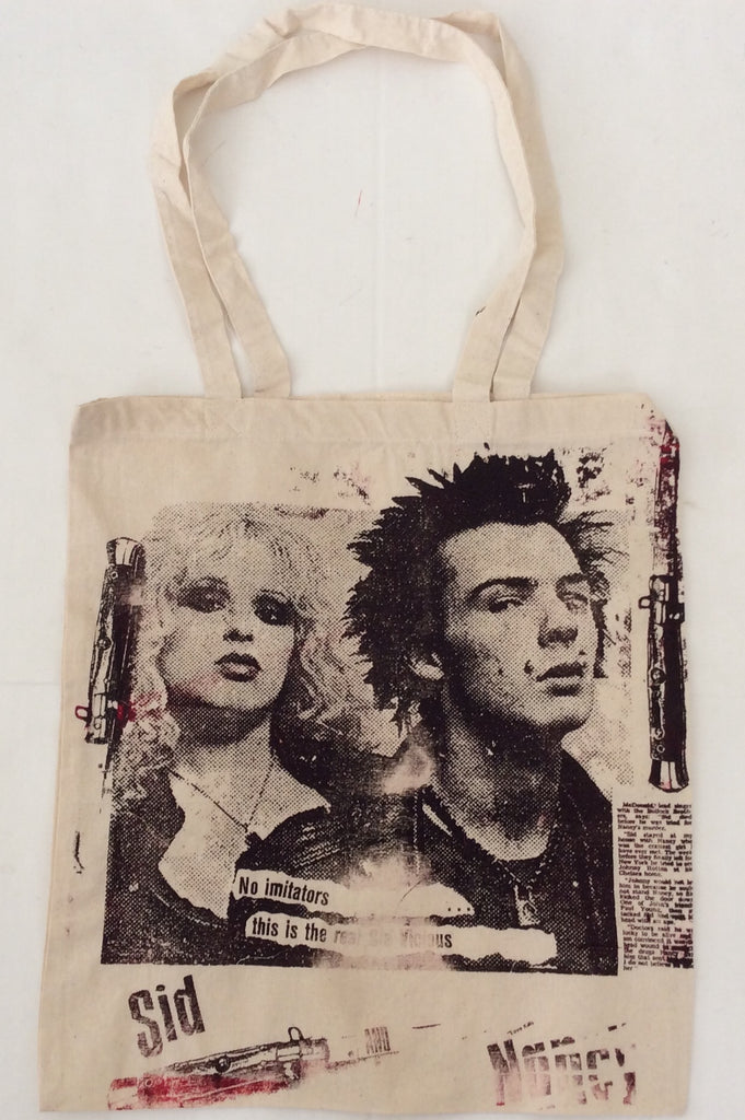 Punk Bag Sid Vicious & Nancy Shopper Bag Punk Tote