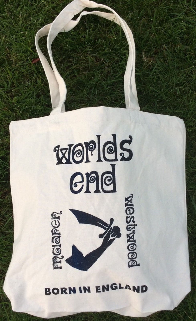 Vintage Worlds End Canvas Bag Punk Shopper