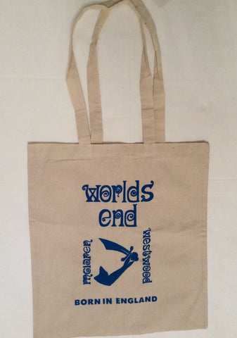 Worlds End Canvas Bag Punk Shoplifters Weswood McLaren Shopper