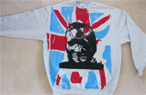 Seditionaries GIMP Mask Sweatshirt Punk Cambridge Rapist Jumper