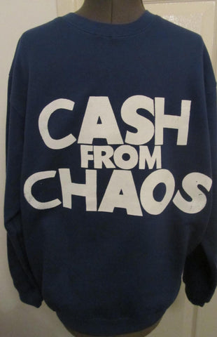 Cash from Chaos- Navy Sweater XL 42""