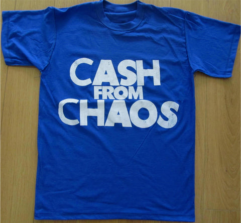 CASH FROM CHAOS - McLaren's Punk Manifesto T-shirt - all sizes