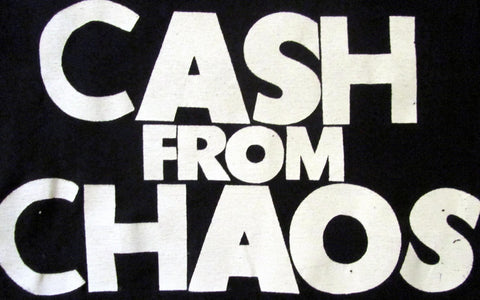 Cash From Chaos - Classic Seditionaries Punk T-shirt - Black