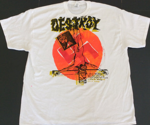 DESTROY Punk T Shirt Seditionaries  Anarchy Jesus 2XL