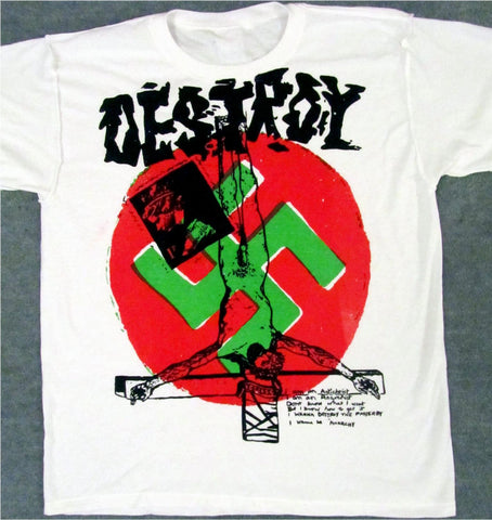 Seditionaries DESTROY Anarchy Sex Pistols T Shirt XL 42""