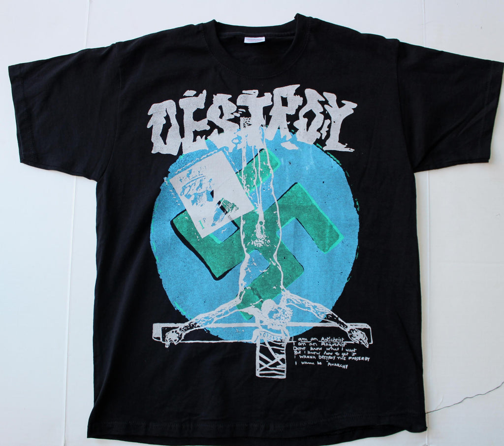 Seditionaries DESTROY T Shirt Black Large