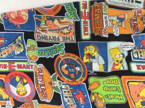 The Simpsons Pajama Pants - Homer Bart Simpson- Slouchy Trousers