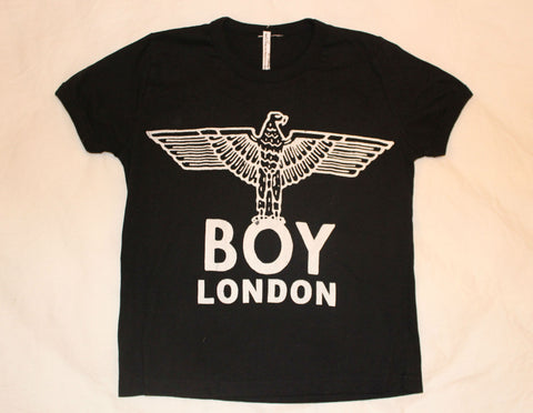 "Punk BOY London vintage Print Cropped T-shirt 32"" -34"" chest"