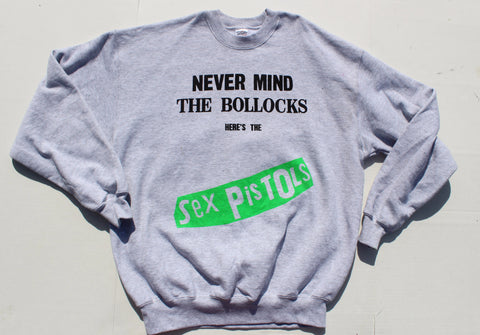 Sex Pistols Sweater 'Never Mind the Bollocks' -grey