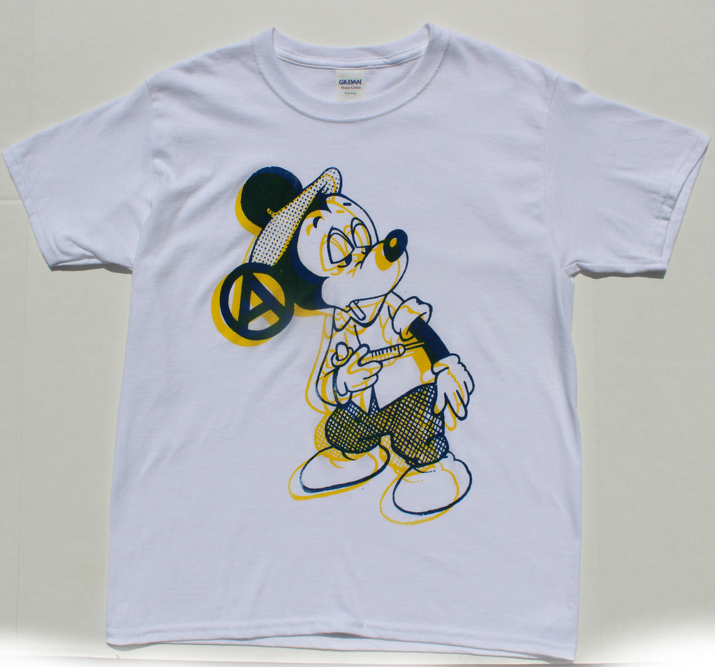Mickey Fix T-shirt - Yellow