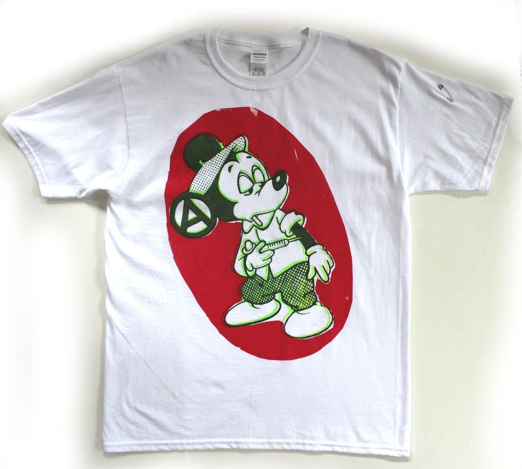 "Mickey Mouse Drug Fix T-shirt  XSm 34"" - Sm 36"""