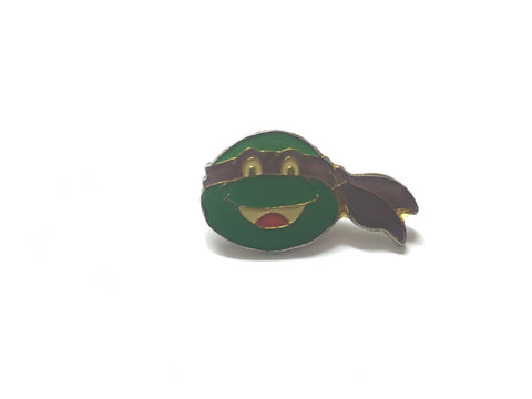 Donatello Ninja Turtle - Vintage 1990 purple TMNT enamel pin badge