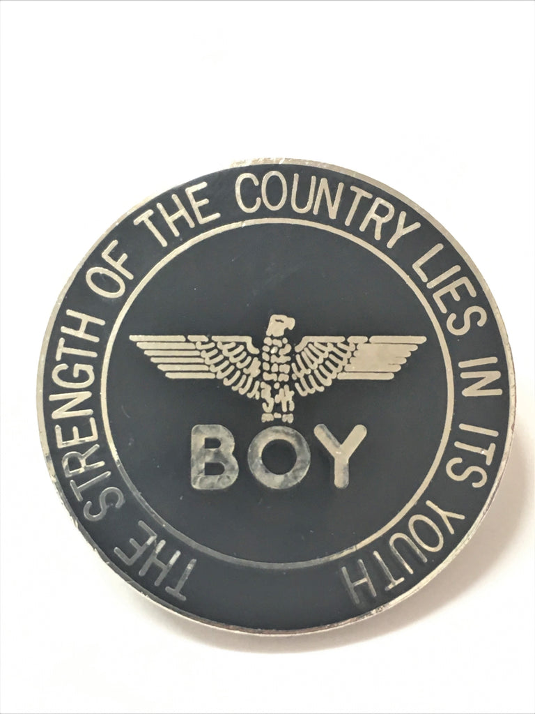 BOY London BADGE Vintage 1988 enamel pin