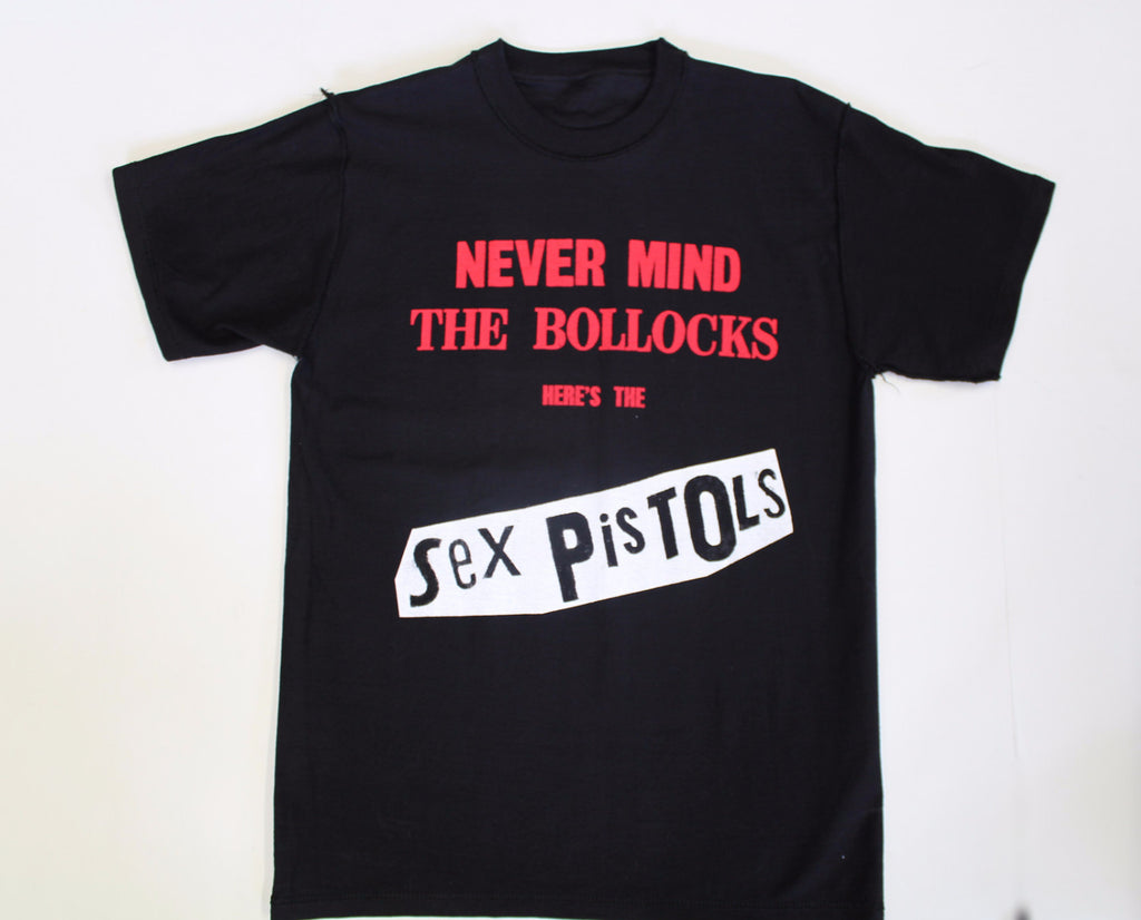 Never Mind the Bollocks Sex Pistols T-shirt- Black