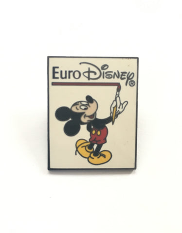 Mickey Mouse Euro Disney Vintage enamel pin badge