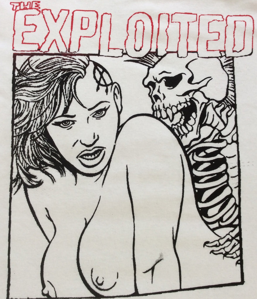 The Exploited Punk Band T-shirt Skeleton Sex - 3XL