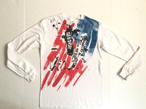 Anarchy Flag - punk long sleeve shirt -USA edition