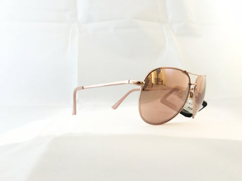 Aviator Sunglasses - Rosé