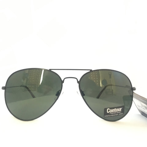 Aviator Sunglasses -Classic Black