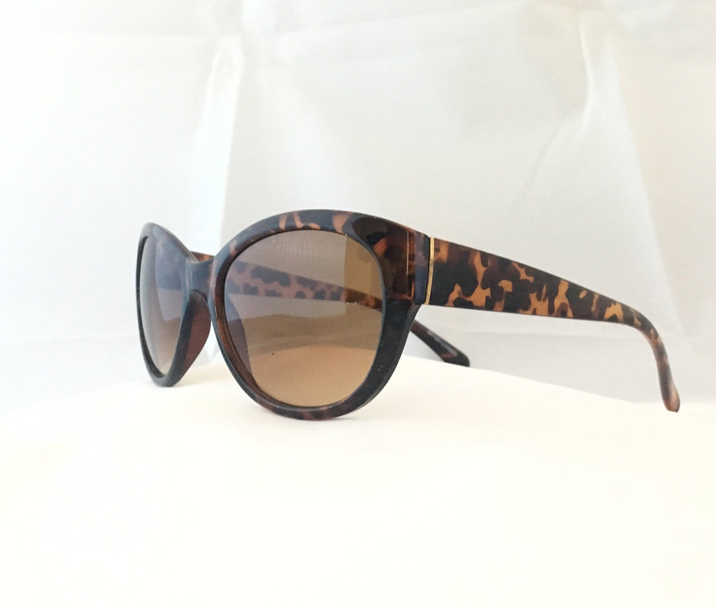 Cat Eye Sunglasses -Toroiseshell