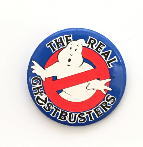 Retro Ghostbusters- Vintage large pin badge