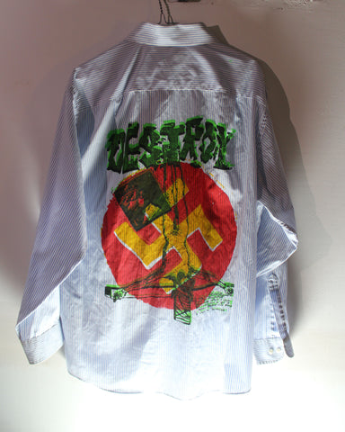Destroy - Seditionaries Punk Button-up Shirt